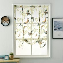 Fresh Curtain Lower Open Pastoral Style Curtains