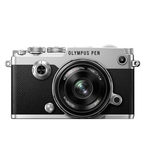 Olympus PEN F Camera - 17 mm Lens, Silver