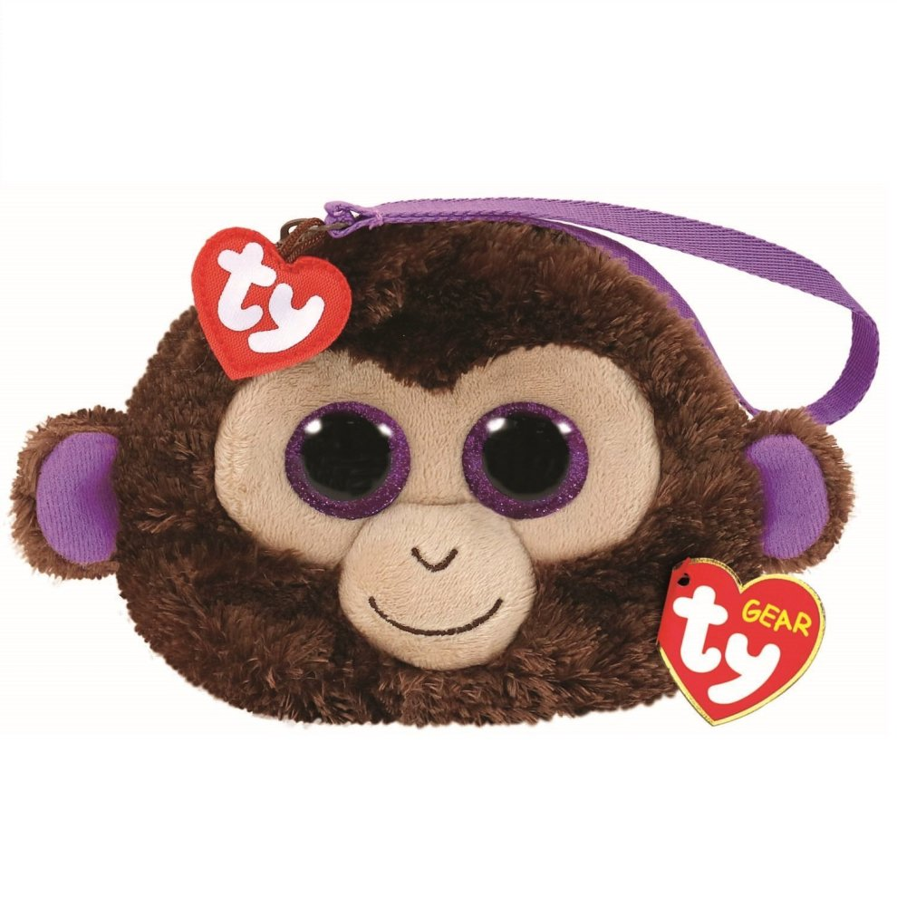 26c4d9bd34085c TY Beanie Boo Wristlet - Coconut the Monkey on OnBuy