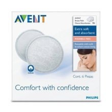 Philips Avent Washable Breast Pads Scf155/06