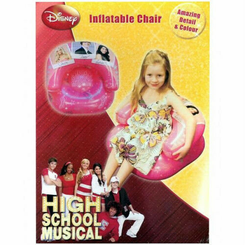 High School Musical Inflatable Chair 'Prom' Design Kids Childrens Sofa Armchair