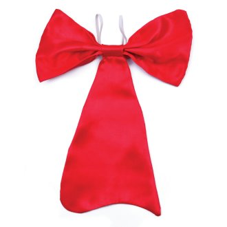 Bristol Novelty Large Red Bow Tie