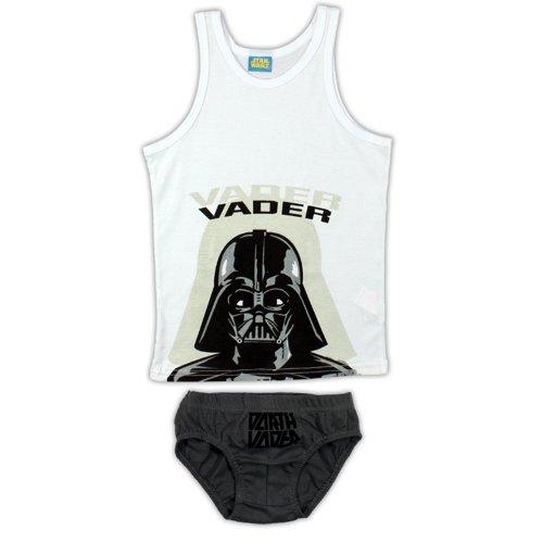 Star Wars Vader Pants & Vest - White