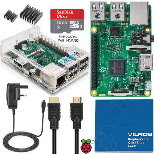 Vilros Raspberry Pi 3 Complete Starter Kit--UK Edition