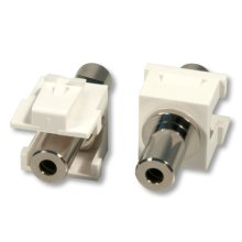 Lindy 60528 3.5mm Silver,White wire connector