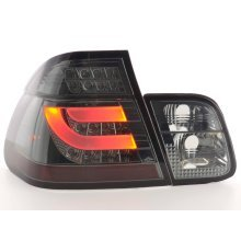 Led Taillights BMW serie 3 E46 saloon Year 02-05 black