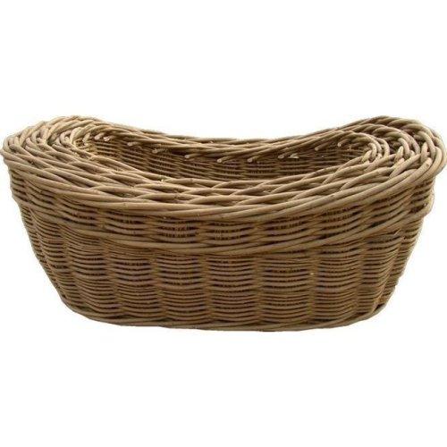 Set of 3 Harvest Log Baskets