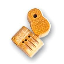 SINGLE BLOCK 3 HOLES 8 mm (2u.) - Artesania Latina - Accessories: No 5 Series