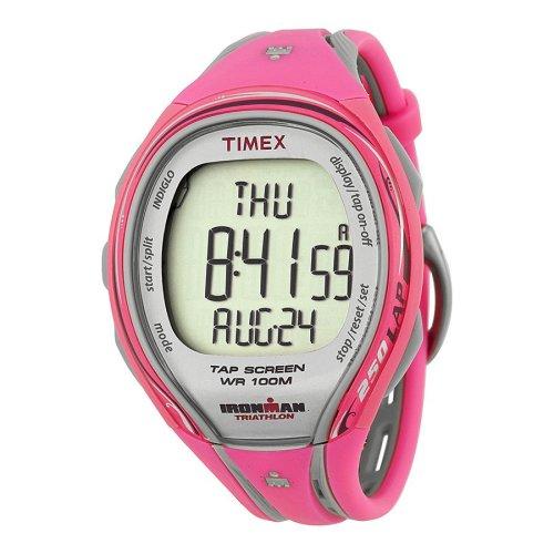 Timex Ironman Sleek 250 Alarm Chronograph Ladies Watch T5K591