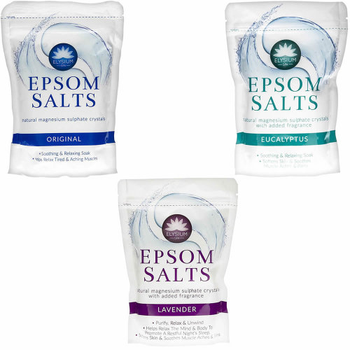 450g Epsom Bath Salts Spa Soak Natural Magnesium Sulphate Muscle Aches Pains