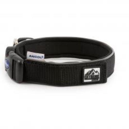 Extreme Nylon Padded Collar Black Size 2 26-30cm