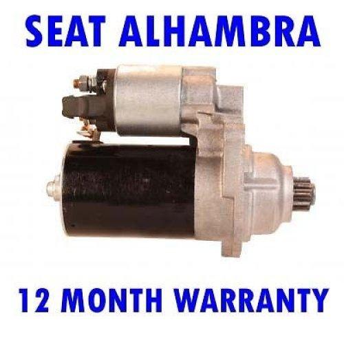 Seat alhambra 1.8 20v mpv 1997 1998 1999 2000 2001 - 2010 starter motor