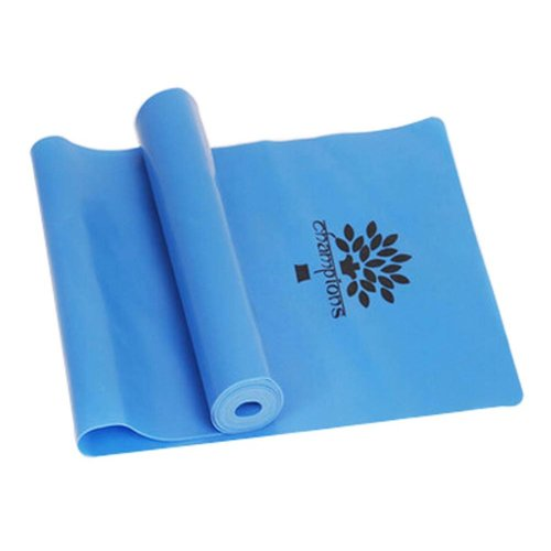 High-grade Durable Colorful Yoga Strap Exercise Band Fitness Equipment,BLUE