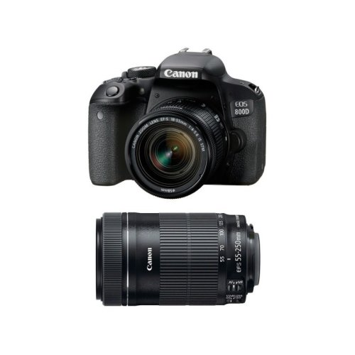 CANON EOS 800D KIT EF-S 18-55mm IS STM+ EF-S 55-250mm IS STM