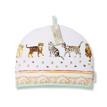 Cooksmart Tea Cosy Teapot Cover Warmer Cotton Insulated,CATS ON PARADE