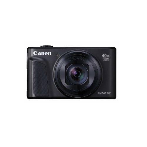 Canon PowerShot SX740 HS Compact Camera - Black