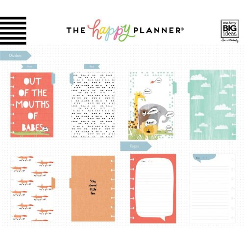 Happy Planner Mini Journaling Notebook W/80 Sheets-He Said