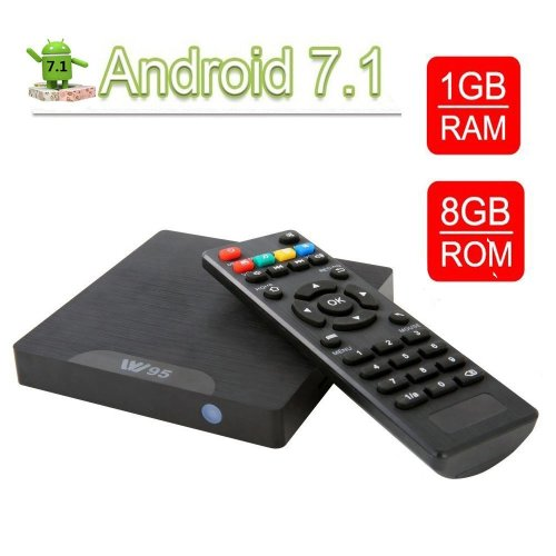Smart TV Box Android 7.1- VGROUND W95 Android TV Box