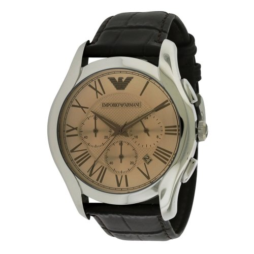 Emporio Armani Classic Leather Chronograph Mens Watch AR1785