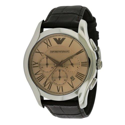 Emporio Armani Classic Leather Chronograph Mens Watch AR1785