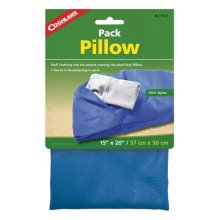 Coghlans Camping Pack Bag -  pack pillow blue