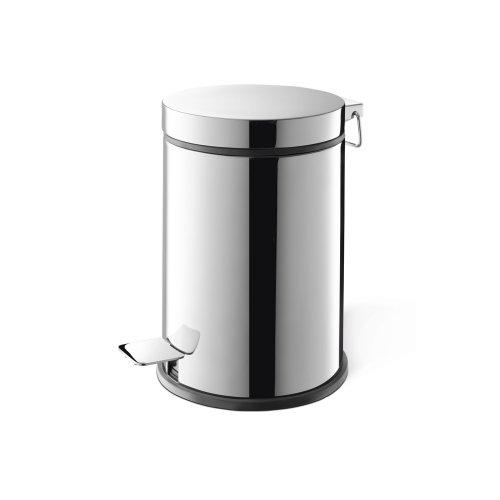 Zack Vasca 27 cm Pedal Bin (3 L) - Polished Stainless Steel