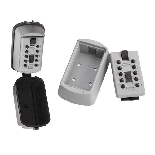 Wall Mounted Indoor Outdoor Key Safe Waterproof Cover Combination Push Button Lock