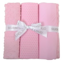 Cot Bed Bedding Bale Pink