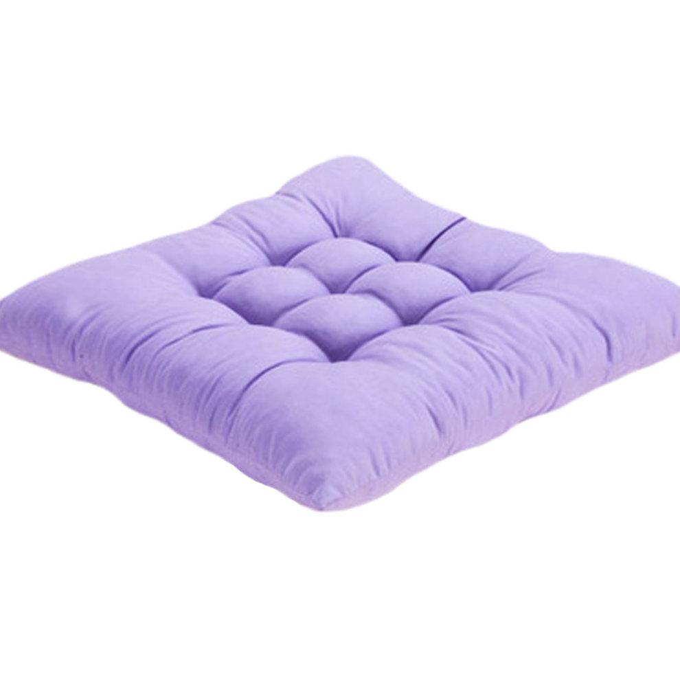 Quality Comfort Soft Chair Cushion Seat Pad Seat Cushion Pillow Light Purple
