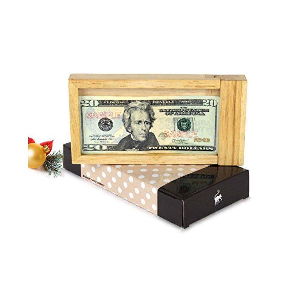 Monkey Pod Games Magic Money Puzzle Gift Box A Fun Way To Give A Money Gift