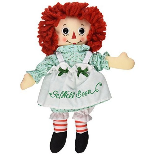"Aurora World Raggedy Ann Get Well Soon Doll, 10"""