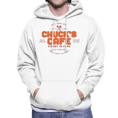 Chucks Cafe Santa Clarita Duel Men's Hooded Sweatshirt
