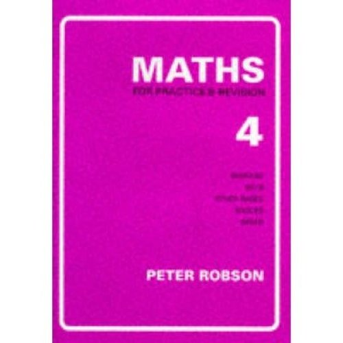 Maths for Practice and Revision: Bk. 4