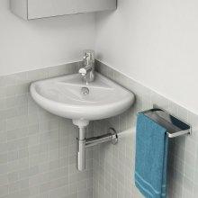 Compact Mini Cloakroom Corner Basin for Bathroom Toilet