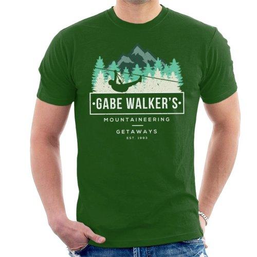 Gabe Walkers Mountaineering Getaways Cliffhanger Men's T-Shirt