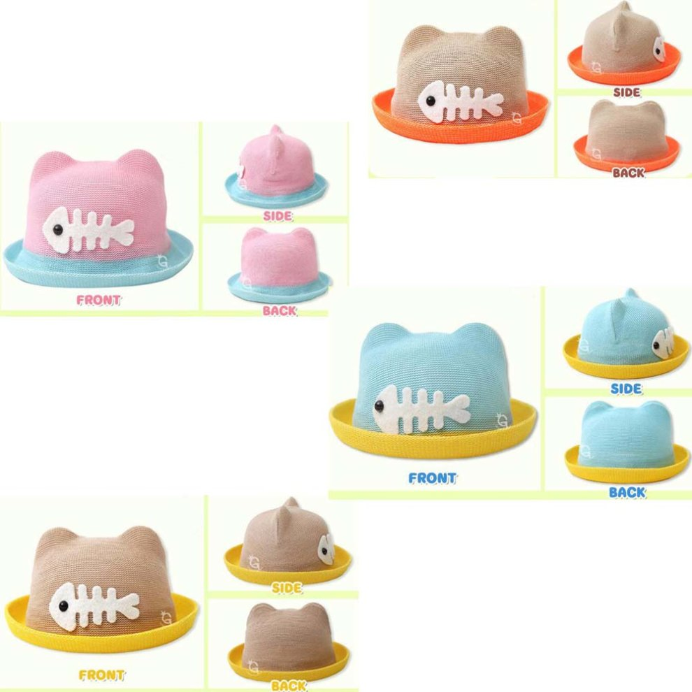 ... Straw Hat Summer Sun Hat Baby Boys And Girls Summer Hat Visor Baby Hat  - 1.   7143b2c918a6