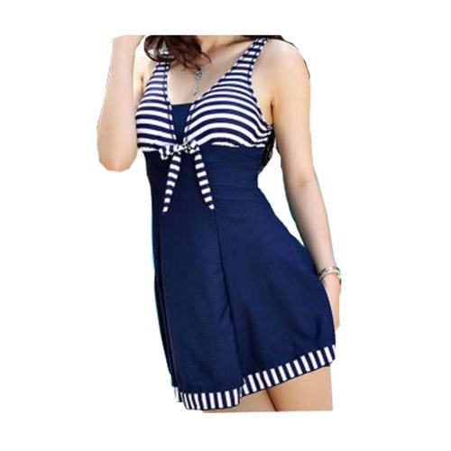 Show Thin Graceful Conjoined Swimsuit/Female Skirt Swimming Apparel