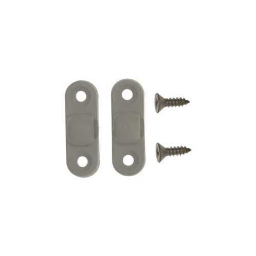 Awning Pole Brackets With Screws - Pack of 2