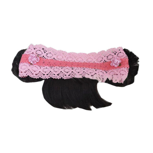 Beautiful Infant Baby Girl High Quaility Hair Band Headband With Fringe-Pink