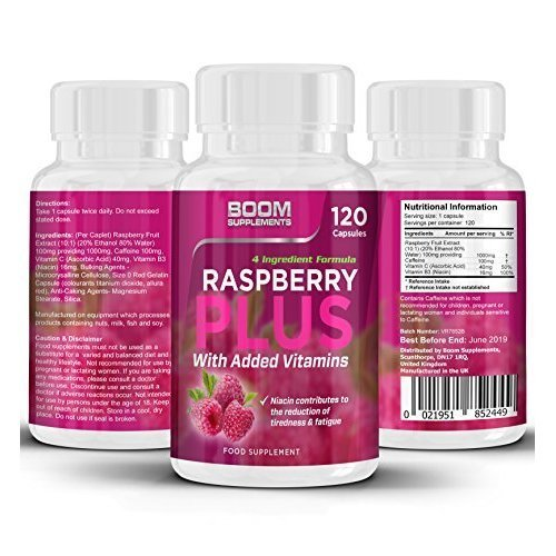Raspberry Ketones Max Strength | 120 Wild, Powerful Weight Loss Capsules | FULL 2 Month Supply | Helps Shed Fat For Men And Women | Raspberry...