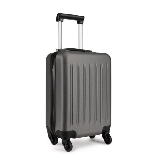 KONO Ryanair Easyjet Cabin Approved Luggage Suitcase Grey