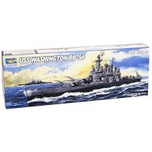 Trumpeter 1/700 USS Washington BB56 Battleship Model Kit