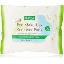 Valley Sundries Beauty Formulas Eye Make Up Remover Pads -  beauty formulas eye remover make up pads x30 fragrance free sameday dispatch skin care