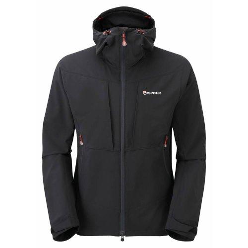 Montane Mens Dyno Stretch Jacket Black (Large)