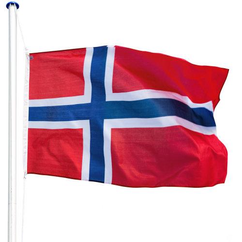 Flagpole aluminium Norway