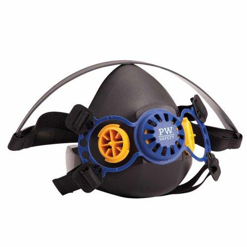 sUw - Vancouver Well-Balanced Durable Bayonet Half Respirator Mask