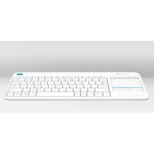 Logitech K400 Plus RF Wireless QWERTY UK English White