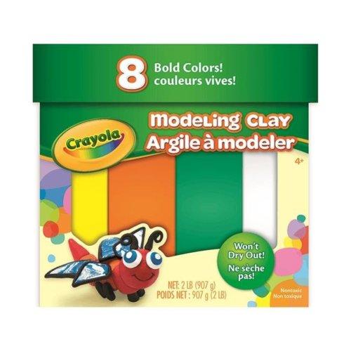 Crayola  BIN570315 Modeling Clay Jumbo Assortment, 2 lbs