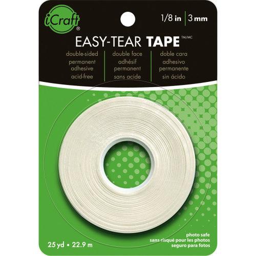 """iCraft Easy-Tear Tape-.125""""X25yd"""