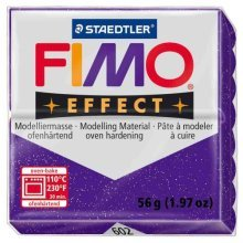 Staedtler - Fimo effect 57g, Glitter Red